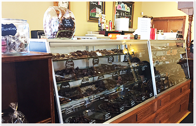 Inside DeRango's Chocolate Shoppe
